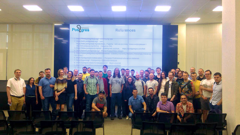 В Ростове-на-Дону обсудили новые возможности PostgreSQL 11